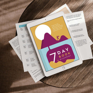 How to Write a Book | 7 Day Book Blueprint Project Pack