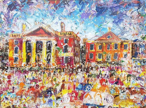 Ross Eccles Trinity College Dublin Painting