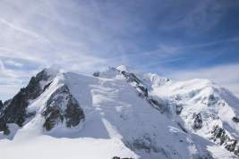 Mont Blanc- the highest point in the Alps