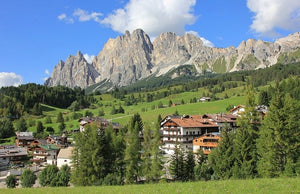 Dolomita di Brenta –the Wildest part of the Alps