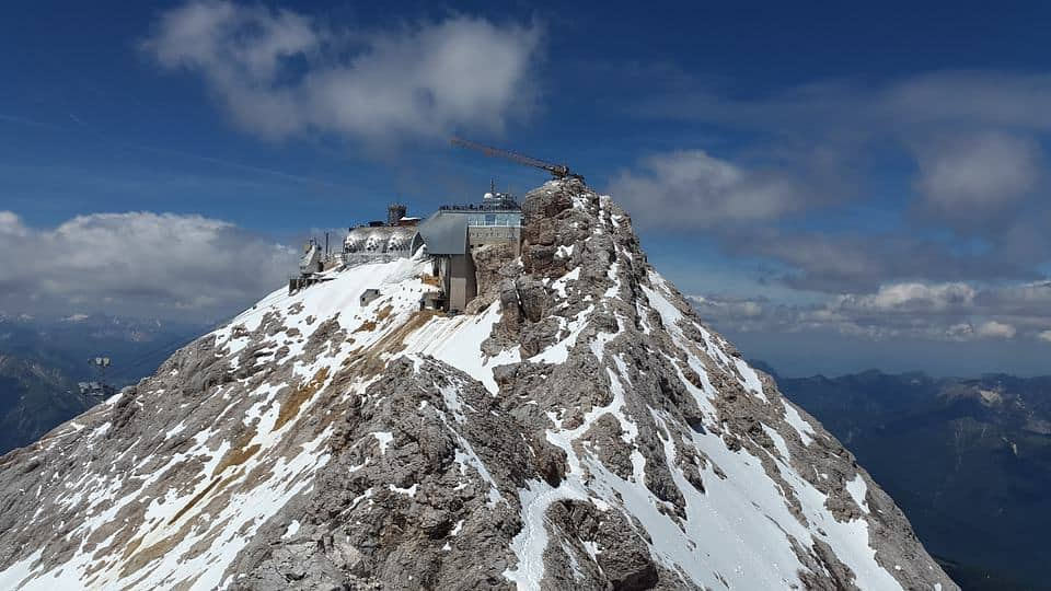 Zugspitze – highest mountain in Germany