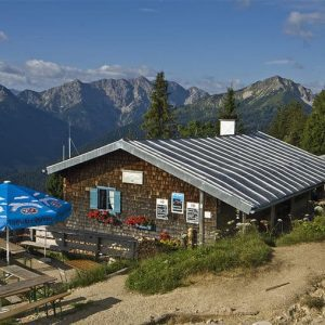 mountain hut - Brunnenkopfhütte
