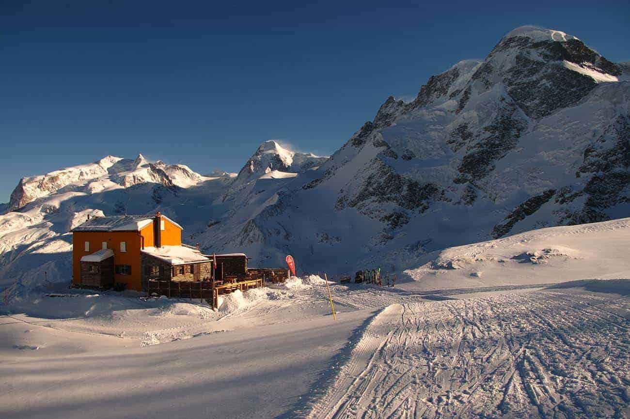 Mountain hut - Gandegg Hutte