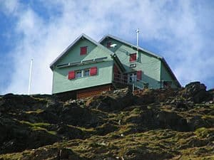 Mountain hut - Weisshorn Hut