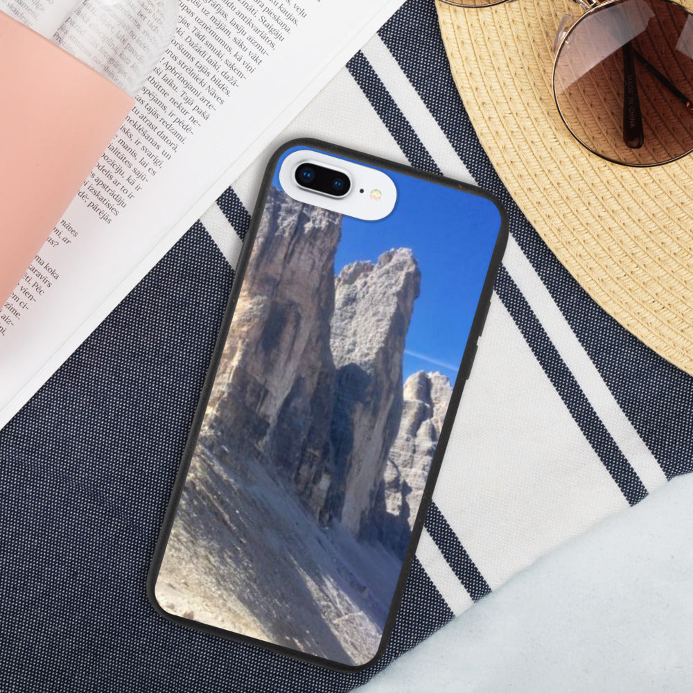 Drei Zinnen Biodegradable iPhone Case