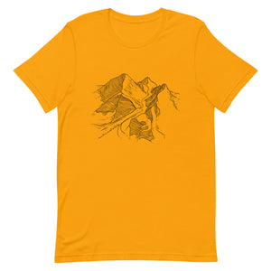Mount Everest & Lhotse Classic Eco Friendly Unisex T-Shirt