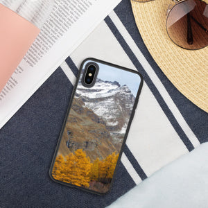 Gran Paradiso Biodegradable iPhone Case