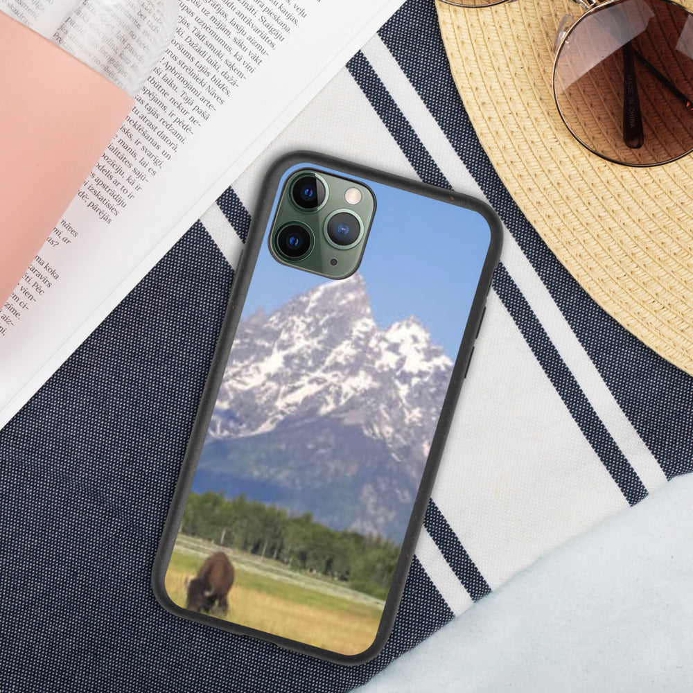 Grand Teton Biodegradable iPhone Case