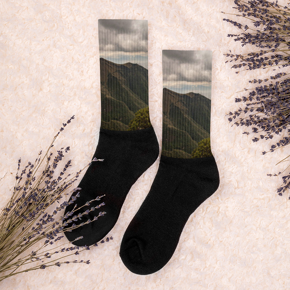 Corazon Volcano Socks