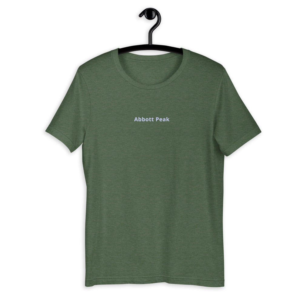 Abbott Peak Unisex Eco T-shirt
