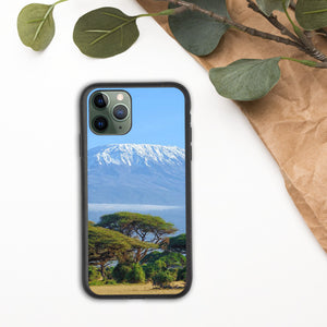 Mount Kilimanjaro Biodegradable iPhone Case