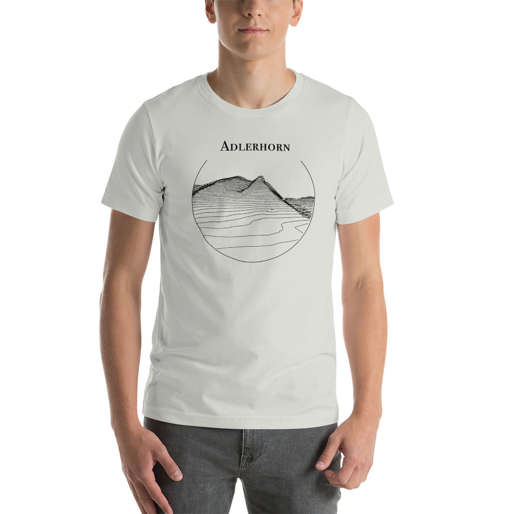 Short-Sleeve Unisex T-Shirt test zwart