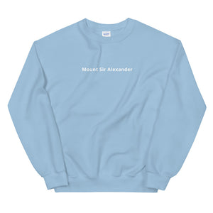 Mount Sir Alexander Sweatshirt