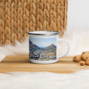 Table Mountain Enamel Mug