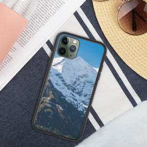 Großes Wiesbachhorn Biodegradable iPhone Case