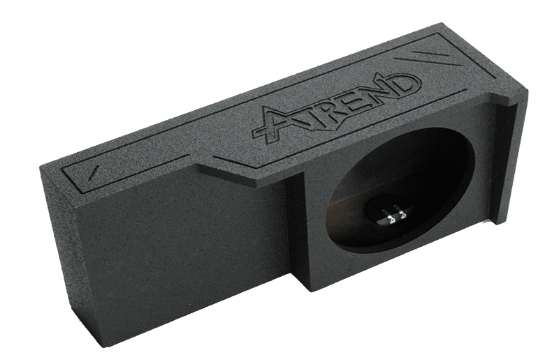 "Atrend A371-10 Single 10"" Sealed Spraylinered Subwoofer Enclosure - Fits 2004 - 2008 Ford F150 Super Crew / Super Cab"