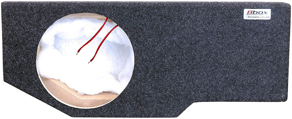 "A201-12CP Single 12"" Sealed Carpeted  - Fits 2002 - 2018 Dodge Ram Quad Cab *2019 Legacy"