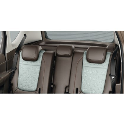 Vauxhall Meriva B Rear Seat Centre Additional Headrest - Cocoa Leather