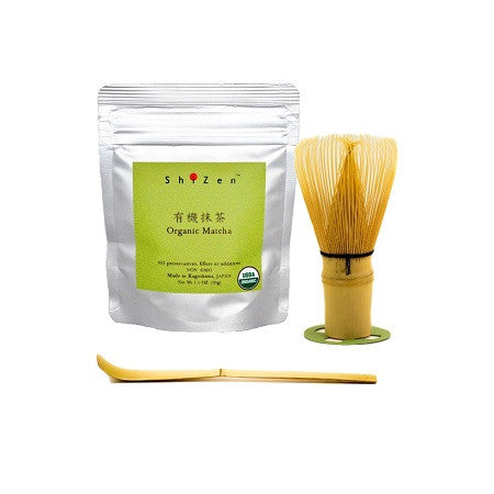 Organic Matcha Green tea start kit