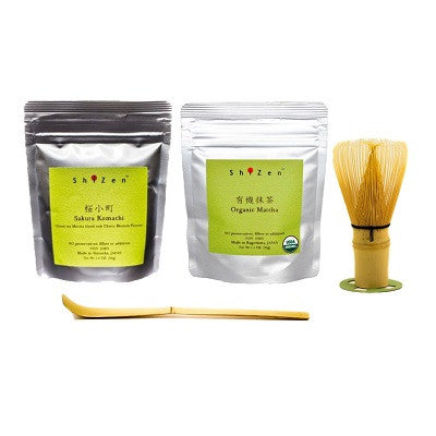 Matcha Green Tea Powder starter kit