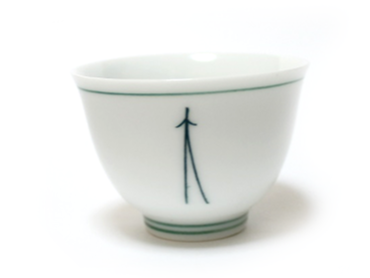 Japanese Tea Cup - Matsuba -