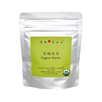 organic matcha green tea powder from ShiZen