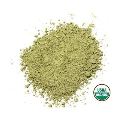 Organic sencha green tea powder