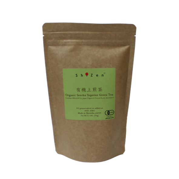 Organic Sencha Green Tea Package