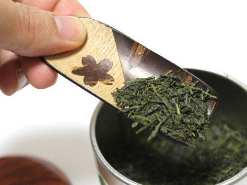 Japanese Tea Scoop Chasaji - Ouhi