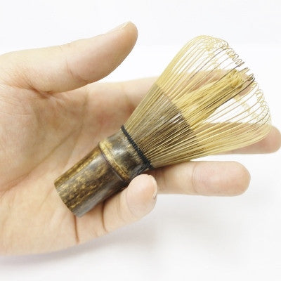 "Bamboo Whisk -Black- ""CHASEN"""