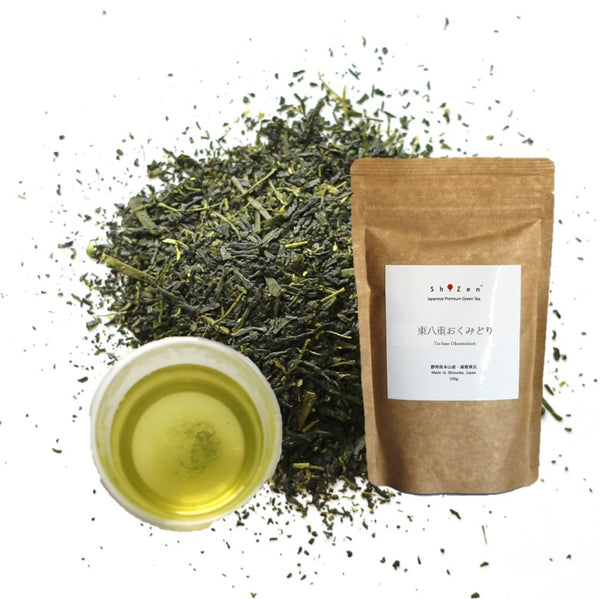To-bae Okumidori Sencha Green Tea Loose Leaf from Japan