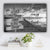 "Lake Dock V1 Family ""Crazy, Loud, Love"" Names Premium Canvas"