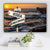 Ocean Dock V2 Color Established Date & Names Premium Canvas