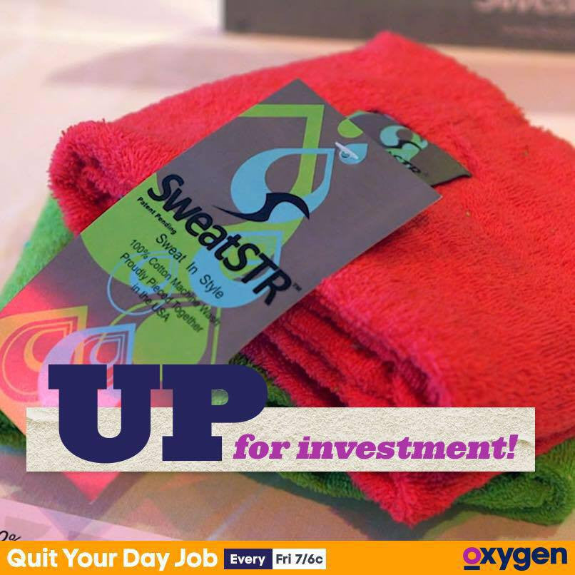"SweatSTR Scarf Towel Will Be Featured on the Newest Oxygen Show, ""Quit Your Day Job"""