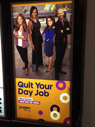 "SweatSTR will be featured on the newest Bravo and Oxygen show:  ""Quit Your Day Job"""
