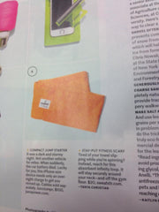 SweatSTR is in Real Simple Magazine