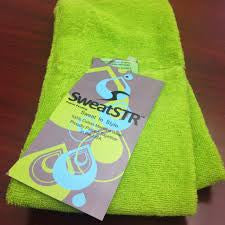 SweatSTR Scarf Towel Green