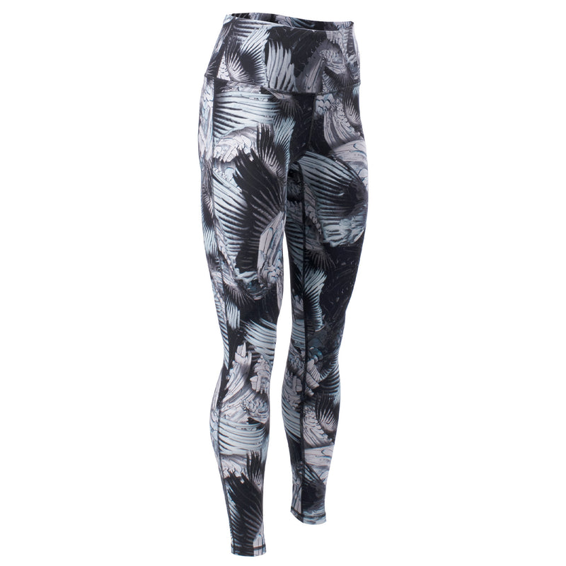 Echelon High Waisted Feather Print Legging