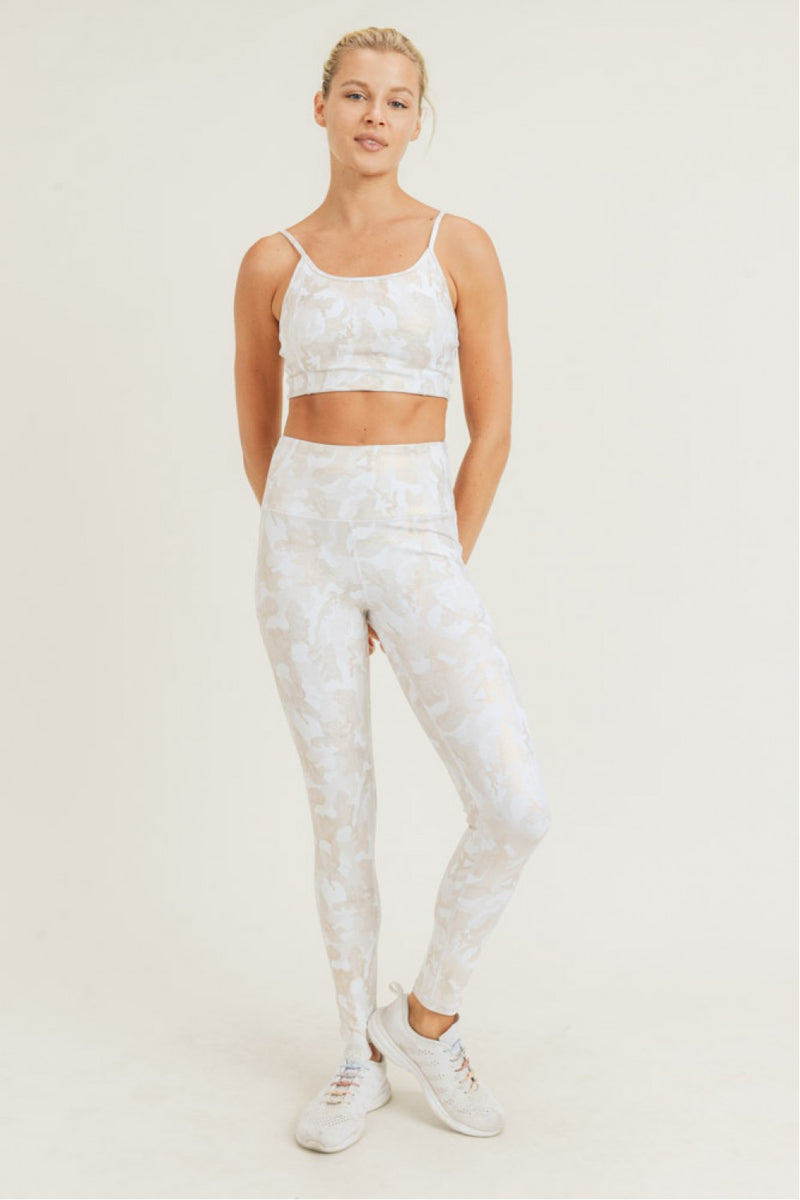 Echelon Gold Camo HW Leggings