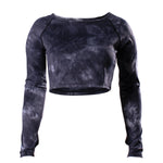 Echelon Acid Wash Crop Top