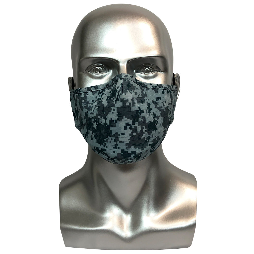 Military Camouflage Mask - Airforce Blue