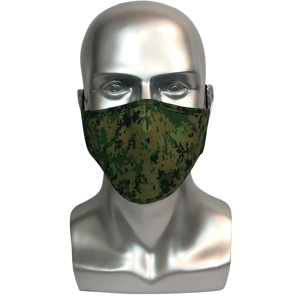 Military Camouflage Mask - Army Green