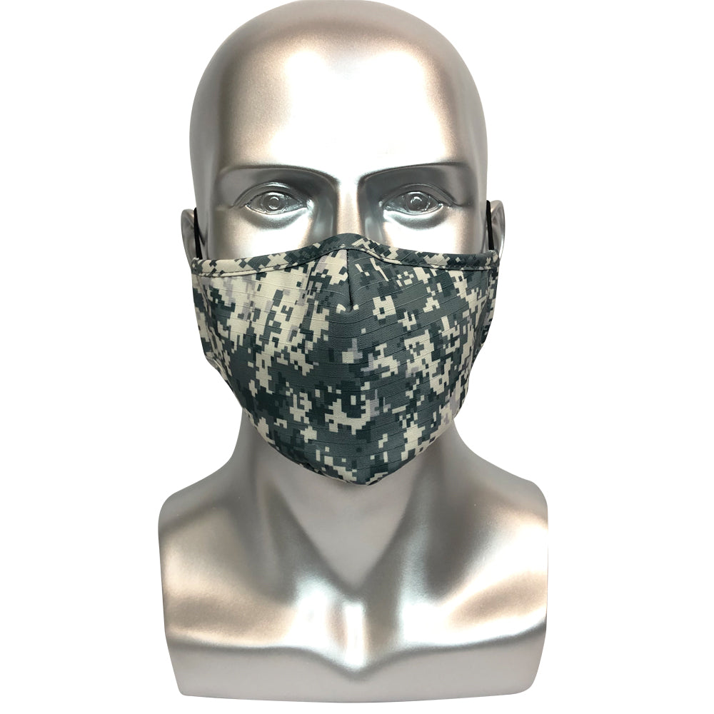 Military Camouflage Mask - Navy Grey