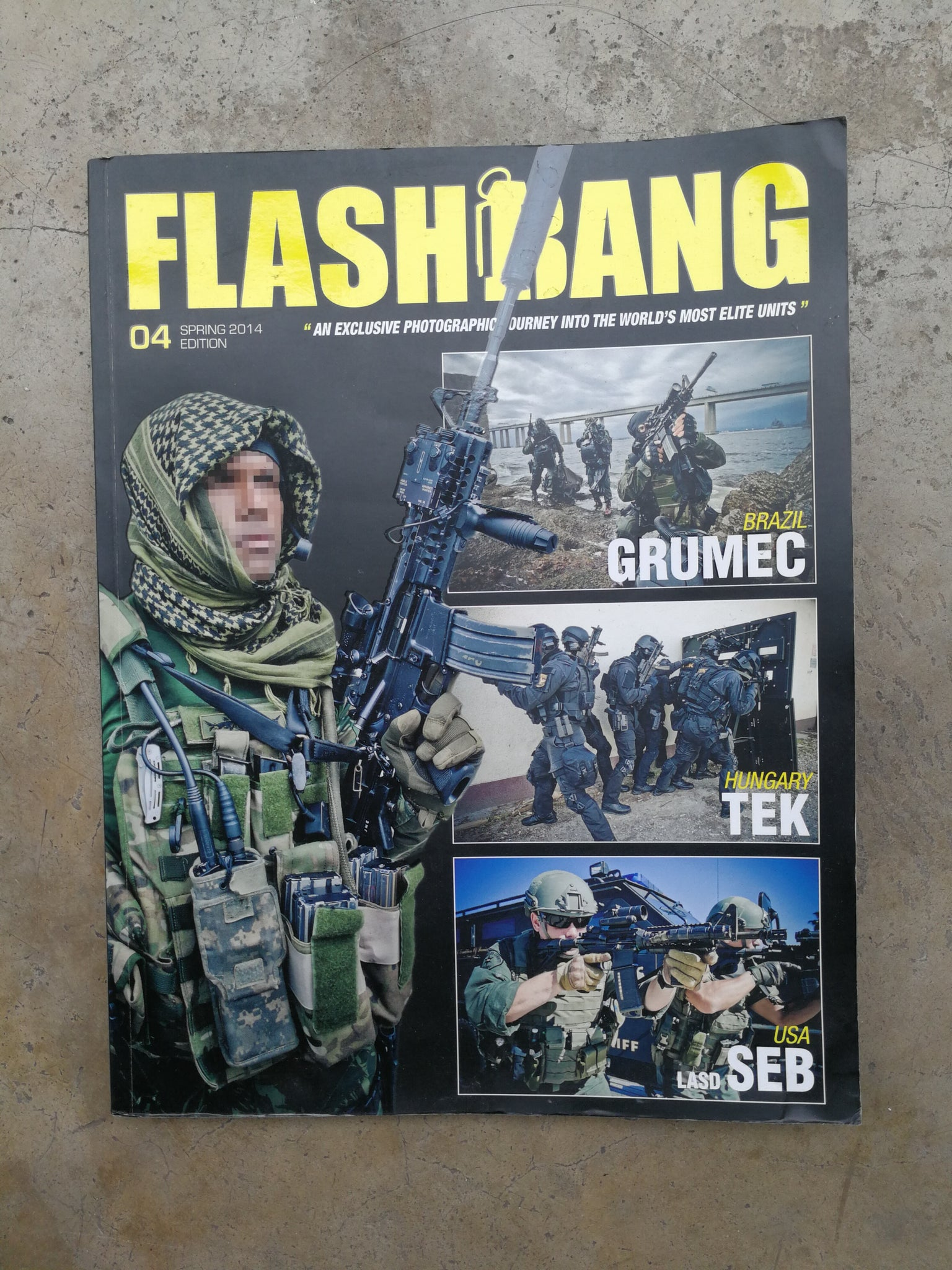 Flashbang Magazine Volume 4