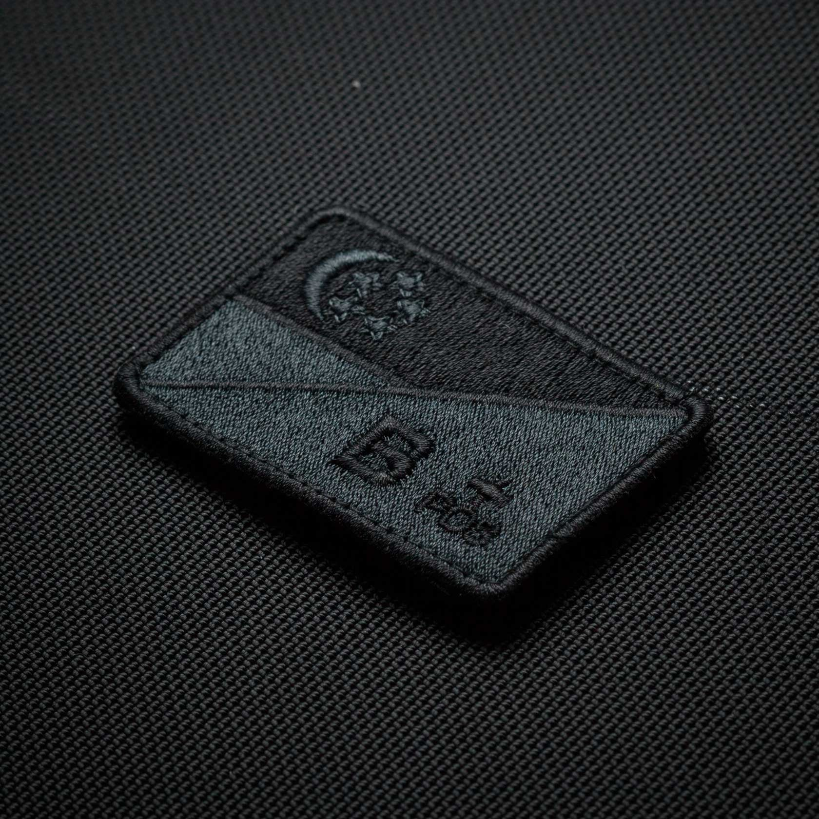 SG Flag B+ Blackout