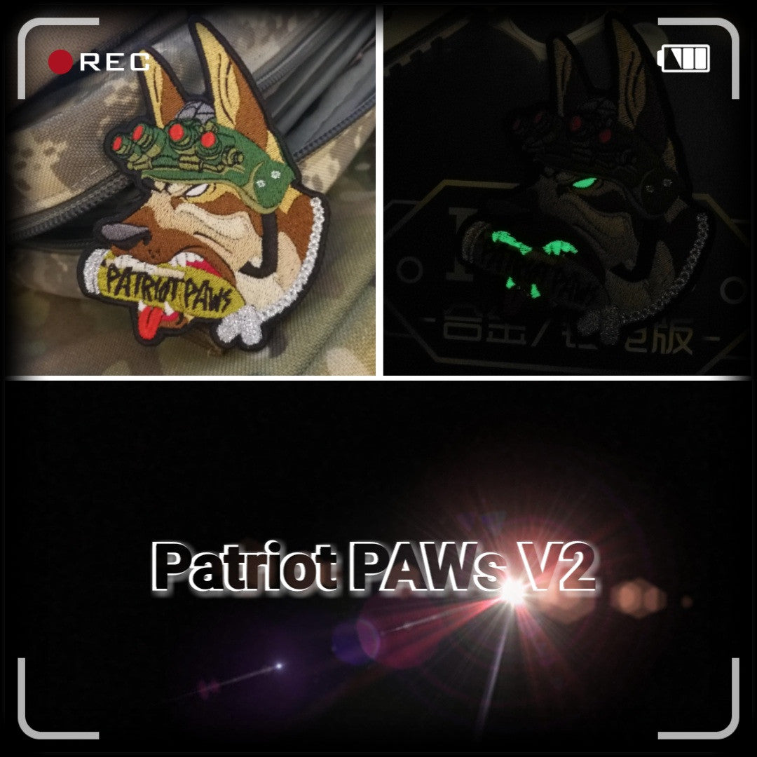 Patriot Paws V2 GITD