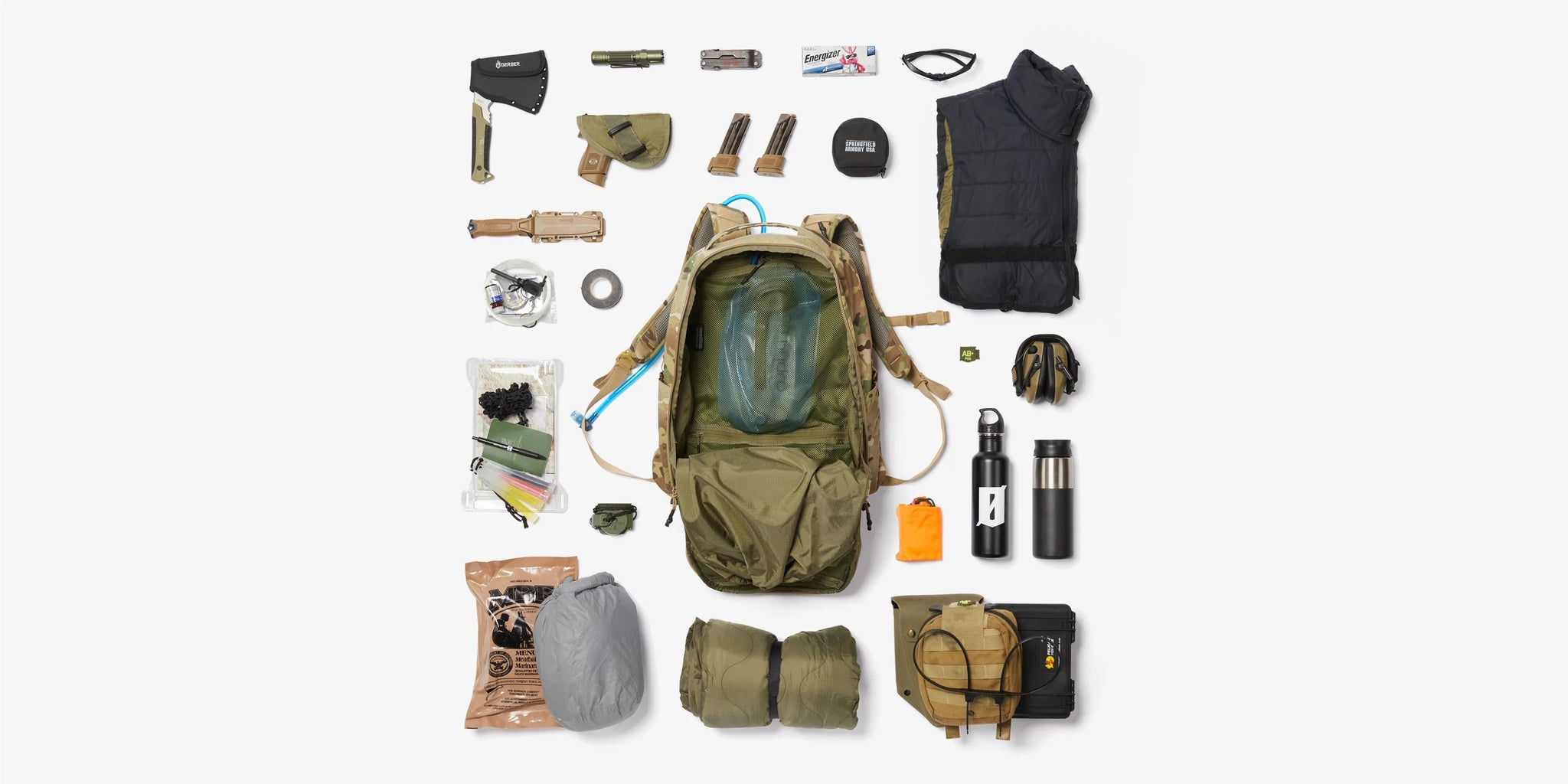 Multicam Black PERIMETER 40 BACKPACK