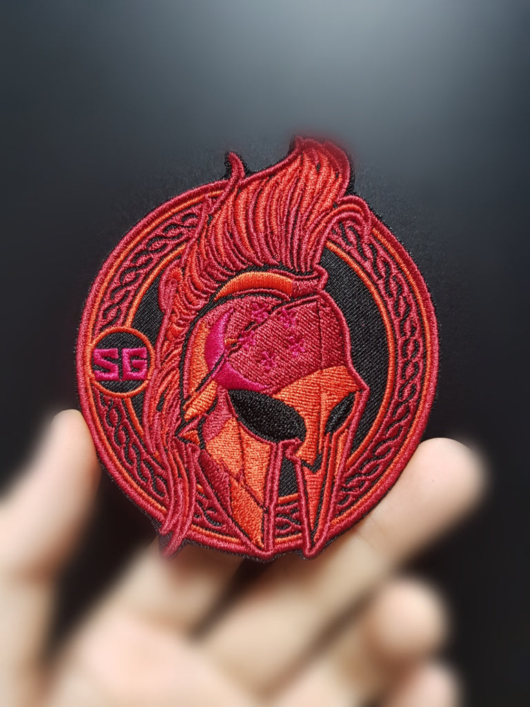 SPARTAN SG - Flaming RED
