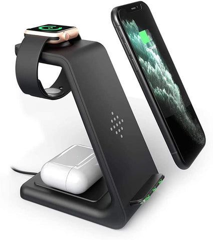 3 In 1 Qi Pod | Wireless Charging Station - SoloLoopStrap