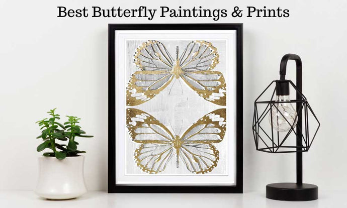21 BEST Butterfly Paintings & Prints [2021]